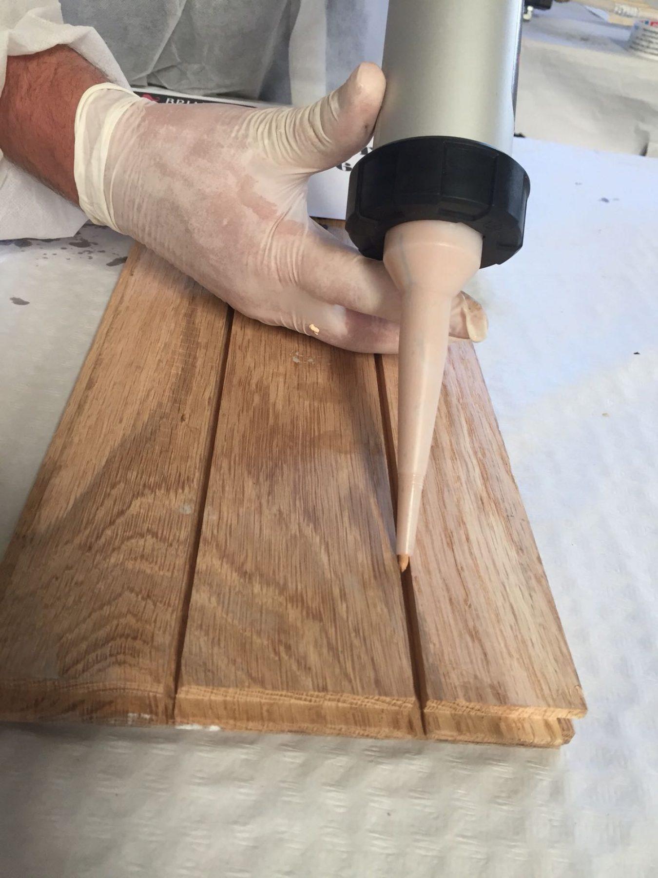 Soluciones personalizadas  para la  reparación de la madera,  según la necesidad de cada cliente