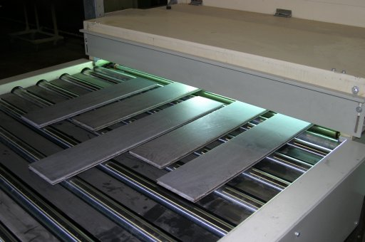 Aceites por secado UV