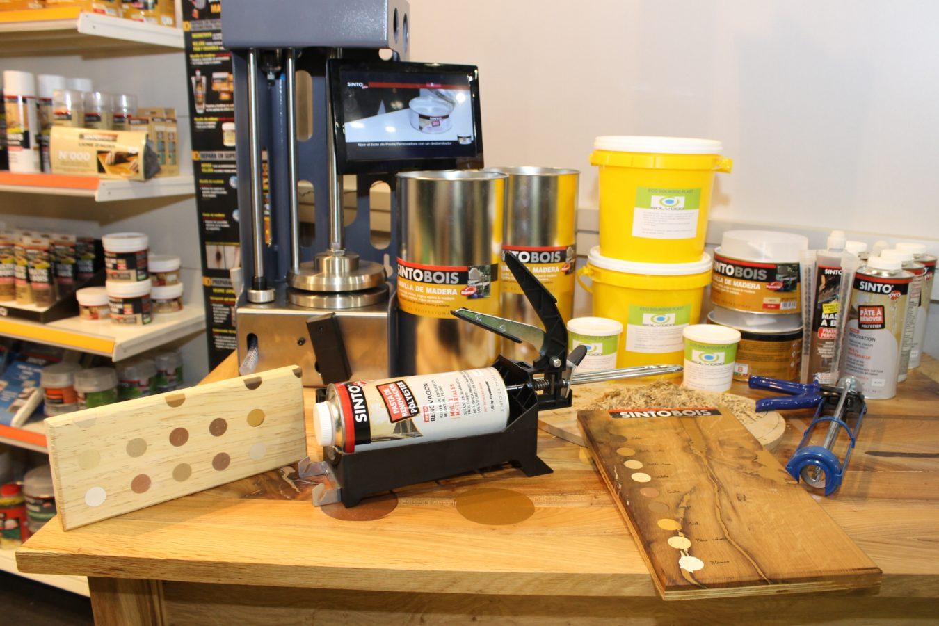 Gama de productos de reparación, específicos para el profesional